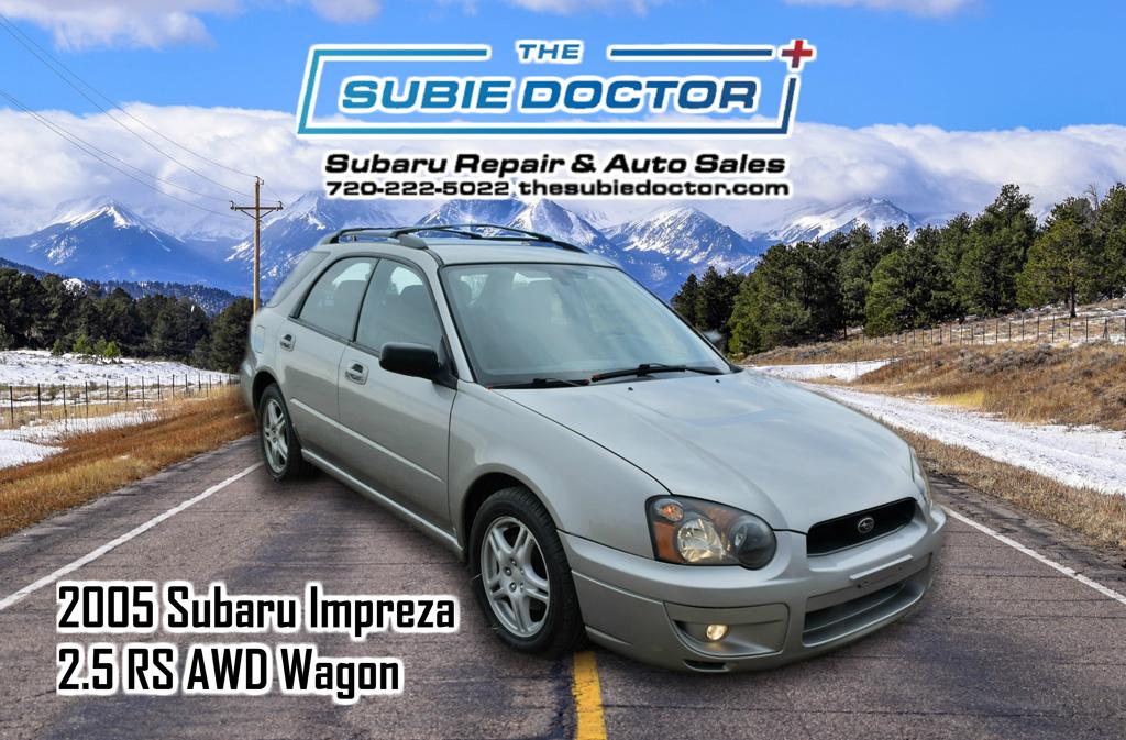 2005 Subaru Impreza 2 5 Rs Wagon For Sale In Denver